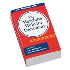 Dictionnaire anglais The New Merriam-Webster
