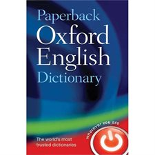 Dictionnaire anglais Canadian Oxford Paperback